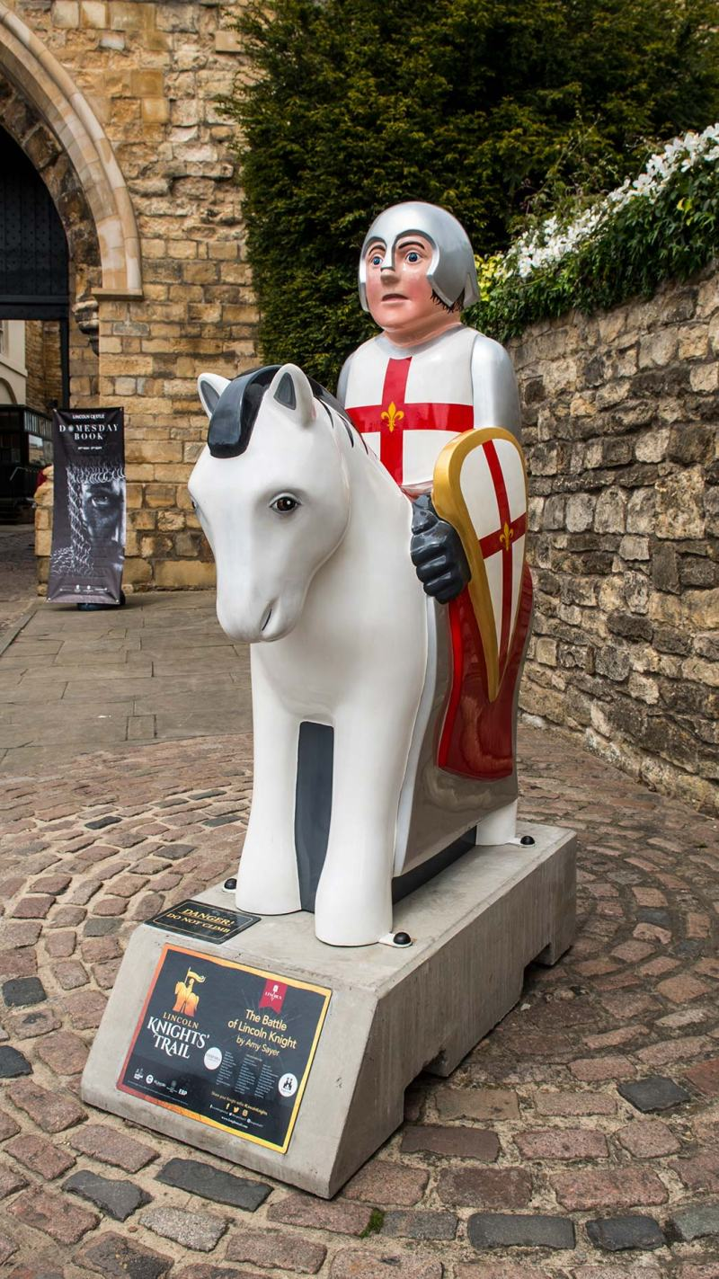 Amy Knights Pics in pictures: the complete lincoln knights' trail
