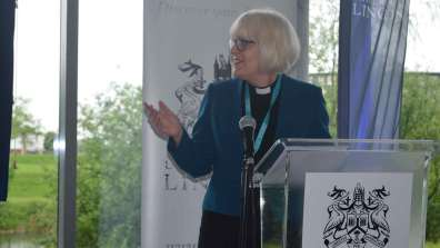 Christine Wilson, the Dean of Lincoln Cathedral. Photo: The Lincolnite