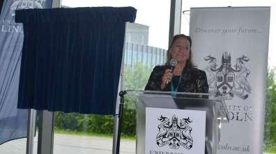 Vice Chancellor Professor Mary Stuart. Photo: The Lincolnite
