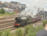 Watch the famous Flying Scotsman travel through Lincoln