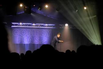 The first Lincoln Comedy Feast took place in 2017. Photo: Steve Smailes