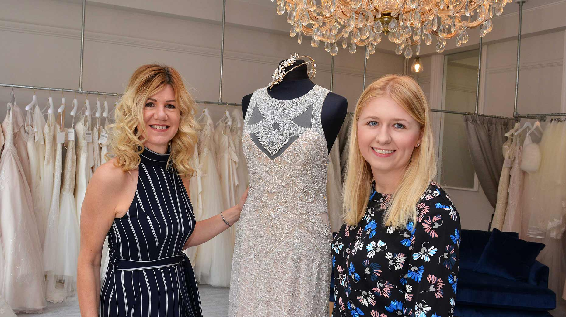 a14d26c796ea New Lincoln bridal boutique ready to dazzle customers at The Lawn
