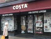 Two weeks and counting! Costa Coffee on Lincoln High Street STILL closed