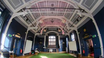 The Blue Room opened as a community theatre at The Lawn. Photo: Steve Smailes for The Lincolnite