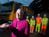 Winter is here! Lincoln gritters blessed ahead of cold weather