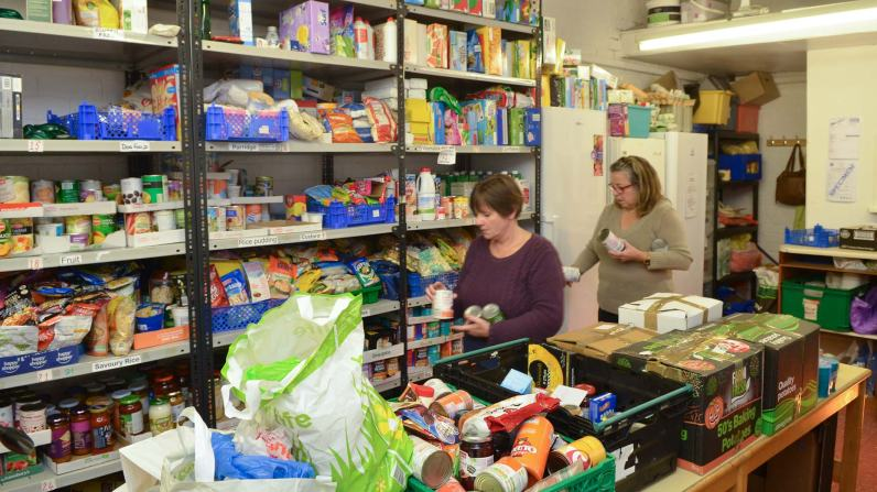Encouraging People To Use Food Banks