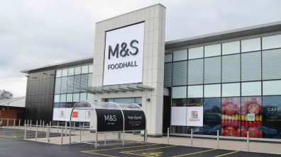 Lincoln's first M&S food store opens on Wednesday, November 29. Photo: Sarah Barker for The Lincolnite