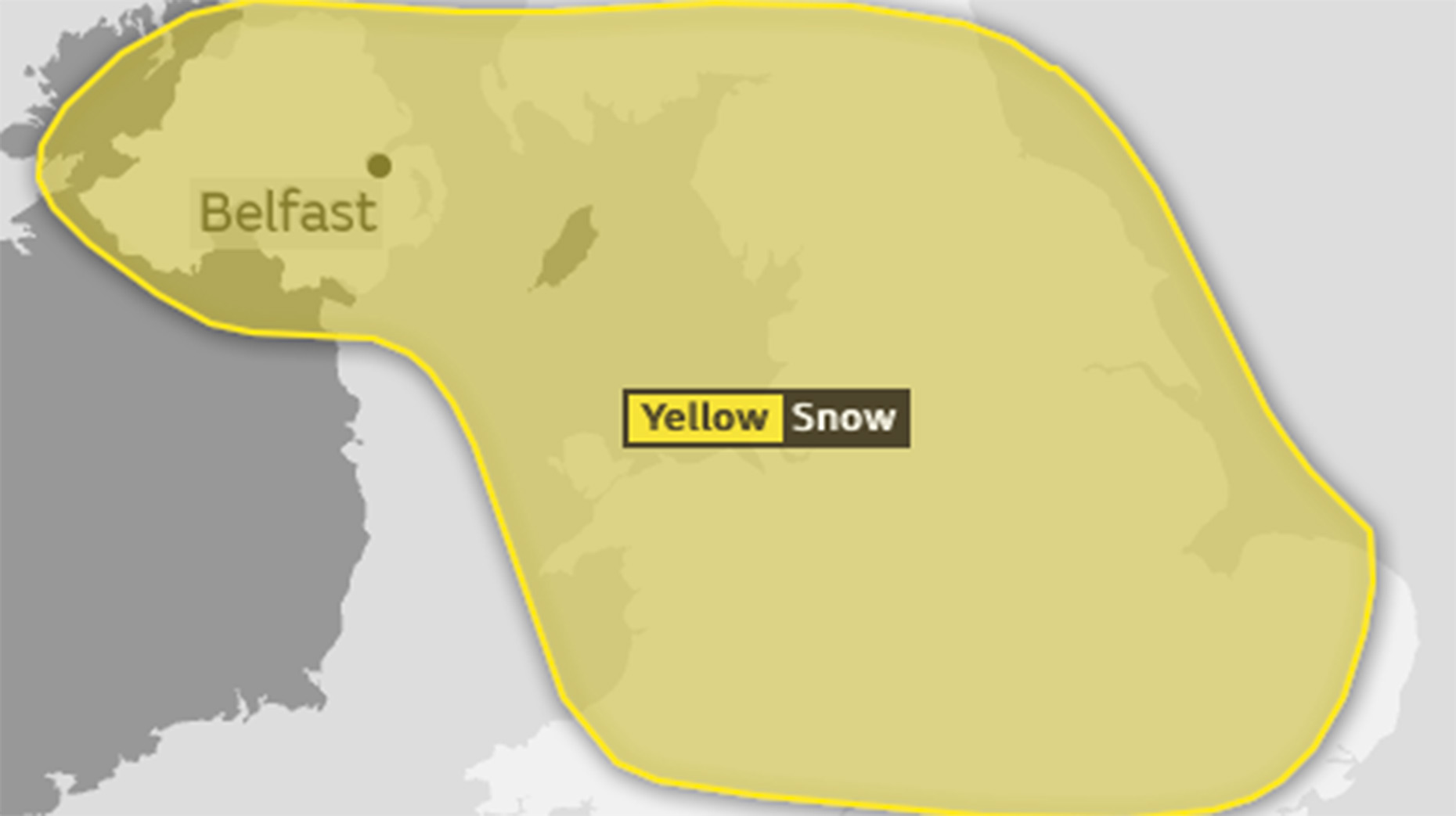 Snow-Ice Warning Issued For Ireland