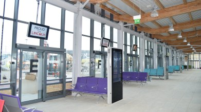 The new Lincoln bus station is set to open later this month. Photo: CoLC