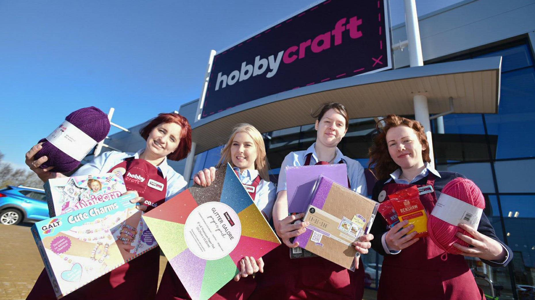 You Wool Love It Lincoln Gets Its First Hobbycraft