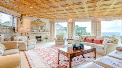One of the many spacious rooms at Red Hall Farm. Photo: Savills