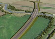 Lincoln southern bypass now North Hykeham relief road