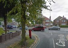 Police and fire crews attend Wragby Road crash