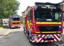 Man injured in Lincoln house fire