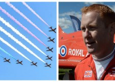 Red Arrows touch down at Lincolnshire Show