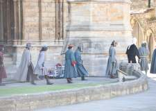 Lights, camera, action! The King filming in Lincoln