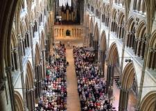 'No handshaking' advice at Lincoln Cathedral during Coronavirus outbreak