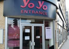 YoYo closed for international cuisine refurb