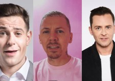 Lee Nelson, Scott Mills and Professor Green in Freshers Week line-up
