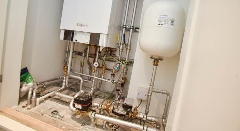 New plumbing systems have been installed throughout the building. Photo: Steve Smailes for The Lincolnite