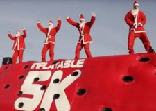 Inflatable 5k Santa Run in Lincoln cancelled