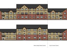 New plans for affordable flats off Nettleham Road