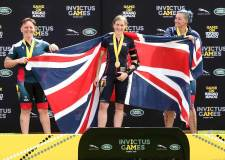 Lincoln veteran wins double gold at Invictus Games