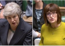 Karen Lee clashes with PM over Brexit deal