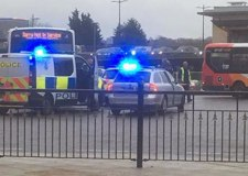 Man arrested after police chase to Lincoln bus station