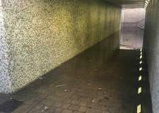 Busy Lincoln underground flooded… again