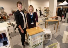New pop-up bazaar features fashion, gifts and prisoners' upcycled furniture