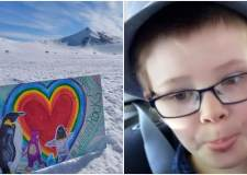 Spreading artistic joy around the world in tribute to Lincoln boy