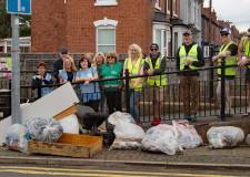 Lincoln volunteers pick up over 40 bags of rubbish