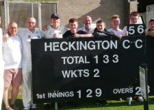A victorious weekend for cricket in Lincolnshire