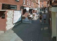 Police hunt for Bailgate doorway flasher