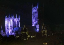 Let there be light! Lincoln Cathedral gets a new glow