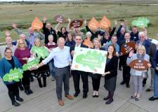 Almost £160k raised for environmental groups through Lincolnshire Co-op scheme