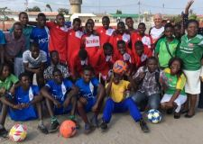 Imps kit used to inspire teams in Africa