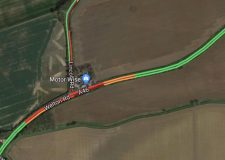 Road blocked due to crash at notorious A46 hotspot