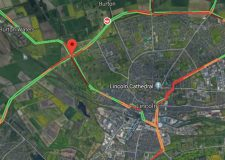 Second A46 rush hour crash adds to roads disruption