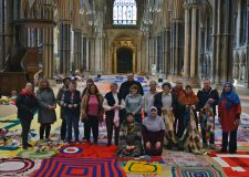 Knitters SOS! Volunteers needed for peace blanket world record