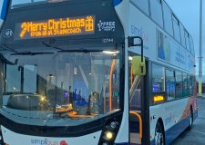 Special £1 bus fare for Lincoln's late night Christmas shoppers