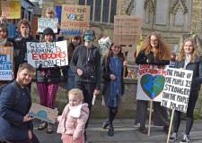 'We don't want to move to Mars': Young climate activists strike in Lincoln