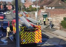Two injured in Lincoln house fire