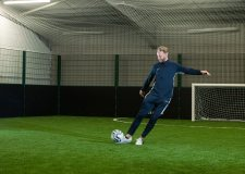 Ex Lincoln City player ready to open indoor football arena
