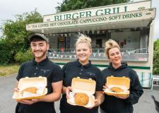 Lincoln family quit jobs to join new burger van