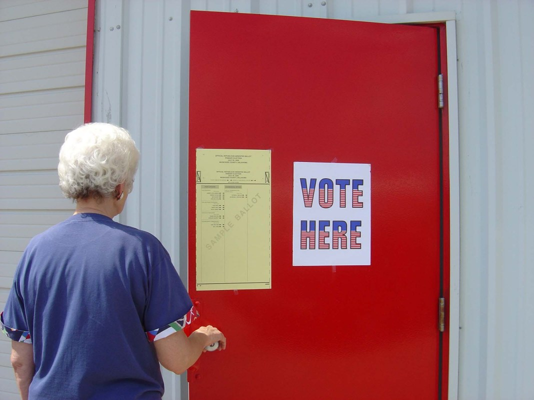Armed poll watchers: New Jersey's cautionary tale ahead of the 2020 presidential election