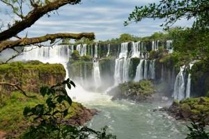 Iguazu Falls on the Argentina side.