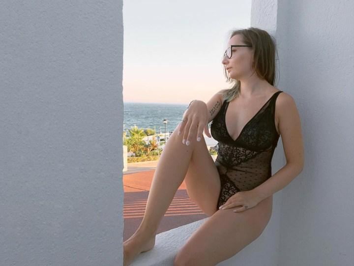 Fuller bust lingerie - Tutti Rouge Eva bodysuit