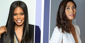 Photo courtesy https://thejjreport.com/celebrities/emmys-chat-nominees-laverne-cox-and-rain-valdez-on-why-a-win-matters/